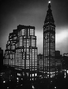 "bygoneamericana: "" Madison Square. New York, 1947. By Herbert Gehr """