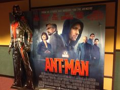 Ant-Man standee!