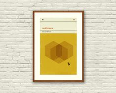 RUSHMORE Inspired Poster, Art Print Movie Poster - 12 x 18 Minimalist, Graphic, Bee, Hexagon, Hollywood Regency, Vintage Style, Retro Home on Etsy, $20.00