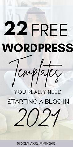 Professional Wordpress Themes, Best Free Wordpress Themes, Wordpress Org, Themes Free, Wordpress Template, Blogging Ideas, Make Money Blogging, Blog Writing, Writing Tips