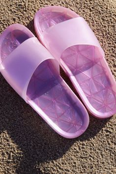 UO Jelly Strap Pool Slide | Urban Outfitters