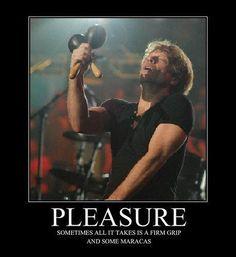 Bon Jovi maracas