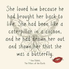 She is a butterfly...