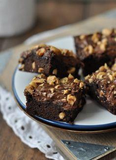Csak a Puffin Nutella Brownies, Brownie Cookies, Fudgy Brownies, Cupcakes, Cupcake Cookies, Biscuits, Good Food, Yummy Food, Chocolate Heaven