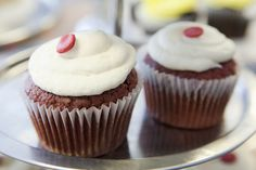 Red Velvet Cupcakes from Bakes and Goods at 2523 Yonge Street Toronto