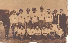 L'équipe américaine féminine d'athlétisme participant aux Jeux féminins de 1922