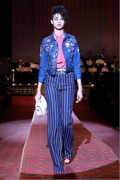 """The trend of Denim from Marc Jacobs. """"NY Fashion Week 