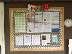 Parent Information Board #noticeboard @wmswms (Westside Montessori School, Vancouver, BC)