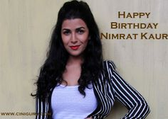 A Beautiful Bollywood Actress #NimratKaur Celebrates Her #Birthday Today ! She works in #LunchBox movie.  Wish Nimrat Kaur at Ciniguru 1 pin = 1 wish .