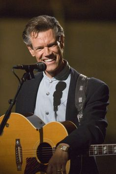 Randy Travis, saw him at The Opry and he forgot the words to his own song...but he was a good sport about it!