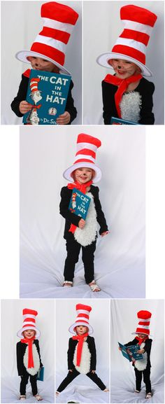 Diy cat in the hat costume mini top hat dr seuss costumes and 12 book themed halloween costumes solutioingenieria Images
