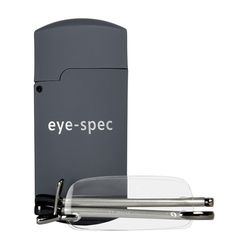 Pocket Reading Glasses, Small Rimless Reading Glasses, Compact Fold Up Glasses,