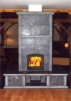another Tulikivi masonry stove