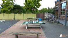 Pingpongtafel Groen bij Sint Lodewijkscollege in Brugge