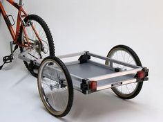 Cargo Bicycle Trailer | Wike Bicycle Trailers - The Walk and Bike ...