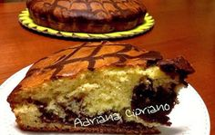 Torta zebrata alla ricotta (spider cake)