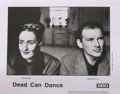 Dead Can Dance promotional 4AD Card