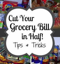 Cut Your Grocery Bill in Half: Tips and Tricks