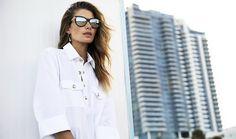 #ranitasobanska #sportfashion Jessica Hart by Bjarne Jonasson for Louis Vuitton Summer 2014 Lookbook