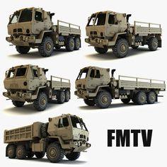 http://www.turbosquid.com/3d-models/fmtv-military-trucks-3d-model/797088