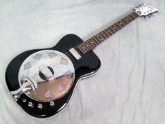 Eastwood Airline Folkstar Electric Resonator Guitar