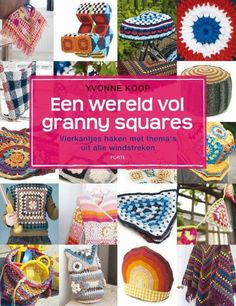 Granny squares haken is enorm populair. In dit boek zijn leuke grannyhaakprojecten verzameld met thema's uit alle windstreken. Oosterse granny's in een theemuts en een kimonovestje, Spaanse granny's in kussens en een strandhoed, Amerikaanse granny's in een poncho en een tas, Zweedse granny's in een trui en wanten en Hollandse granny's in een traditioneel gehaakte jasbeschermer, een oranje stropdas en een Delfts blauwe vlaggetjesslinger.