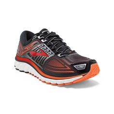 Glycerin 13 Running Men's Tennis Shoe (Style: 110199) | Brooks - 062 Black/High Risk Red/Silver (Size: 9.5), $150.00