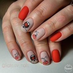 Hey there lovers of nail art! In this post we are going to share with you some Magnificent Nail Art Designs that are going to catch your eye and that you will want to copy for sure. Nail art is gaining more… Read Square Nail Designs, Simple Nail Art Designs, Best Nail Art Designs, Gel Nail Designs, Nails Design, Bird Nail Art, Cute Nail Art, Cute Nails, Pretty Nails