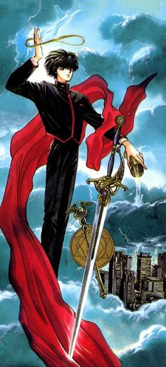 Tarot X Clamp - 01 The Magician The Magicians, Manga Anime, Anime Art, Tokyo Babylon, Secret World Of Arrietty, Magic Knight Rayearth, Xxxholic, Manga Story, Card Captor