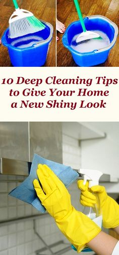 Home Remodeling Tips 10 Deep Cleaning Tips to Give Your Home a New Shiny Look - Springtime is approaching and the urge of having a nice and clean home is getting higher, but it somehow seems that we cannot have those nice clean homes like the . Deep Cleaning Tips, Green Cleaning, House Cleaning Tips, Car Cleaning, Spring Cleaning, Daily Cleaning, Cleaning Checklist, Home Remodeling Diy, Home Renovation
