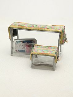 Free People Cosmetic Case Set