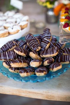 Yummy eclairs by Continental Catering #dessert
