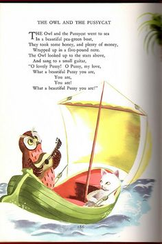 Childcraft Vol. 1, 1954 Edition, illustration by Roger Duvoisin | This book was my introduction to the poem.