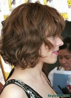Hairstyles for Short Wavy Hair/ no no for me