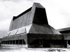 Erich Mendelsohn: Fábrica de sombreros, Luckenwalde, Alemania, 1921-1923.