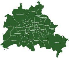 Alle wijken in Berlijn