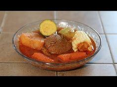 COMO HACER MOLE DE OLLA/CALDO DE RES ROJO   CocinandoConJuanita - YouTube