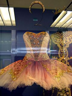 Day 0: Ballet dress display at SF airport by Poohie <3, via Flickr