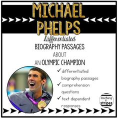 Michael Phelps: Differentiated Biography Passages and Read