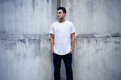 White Geo-Lighted Printed T-Shirt - ISAORA 2013 Spring/Summer New Arrivals