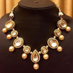 Sneak peak at what is in store !! #anjumkhatrijewellery #needthis #necklace…