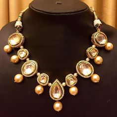 Sneak peak at what is in store !! #anjumkhatrijewellery #needthis #necklace #new…