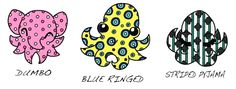 Blue Ringed Octopus Animated | ... Squid #Dumbo Octopus #Blue Ringed Octopus #Happy Birthday Dahlia Octopus Images, Dumbo Octopus, Blue Rings, Dahlia, Diving, Happy Birthday, Animation, Fun, Happy Brithday