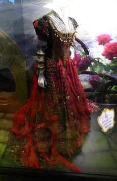 Iracebeth Red Queen gown Alice Through the Looking Glass