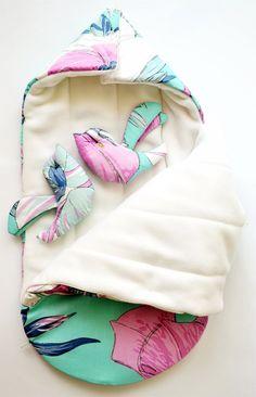 Sleeping bag for newborn autumn-winter by OrigamicoWorkshop Baby Bib Tutorial, Swaddle Wrap, Fall Winter, Autumn, Sleep Sacks, Sleeping Bag, Baby Bibs, Knitting, Blue