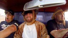 big cheif, Sean, poor kamikaze dress up as farmtruck & Azn & Louise #streetoutlaws