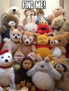 Find me! I truly am in there. Love bears,, don't you?