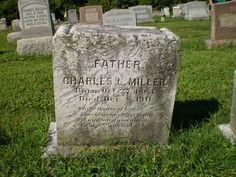 Genealogical Gems: Tombstone Tuesday: Charles L Miller http://genealogybyjeanne.blogspot.com/2014/12/tombstone-tuesday-charles-l-miller.html?spref=tw #genchat #genealogy @geneabloggers
