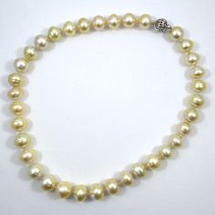 13 mm Ivory Colored South Sea Pearl Necklace. $2,300