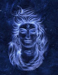 Picture of Transcendental spiritual image of Lord Shiva in the background of the cosmos. stock photo, images and stock photography. Rudra Shiva, Mahakal Shiva, Shiva Art, Hindu Art, Krishna Art, Arte Shiva, Shiva Meditation, Shiv Ratri, Shiva Photos